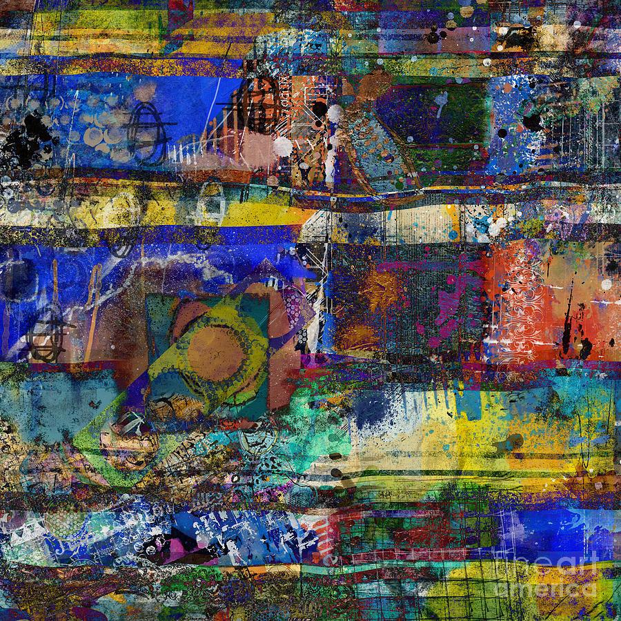 Live Life In Color Digital Art by Nola Lee Kelsey