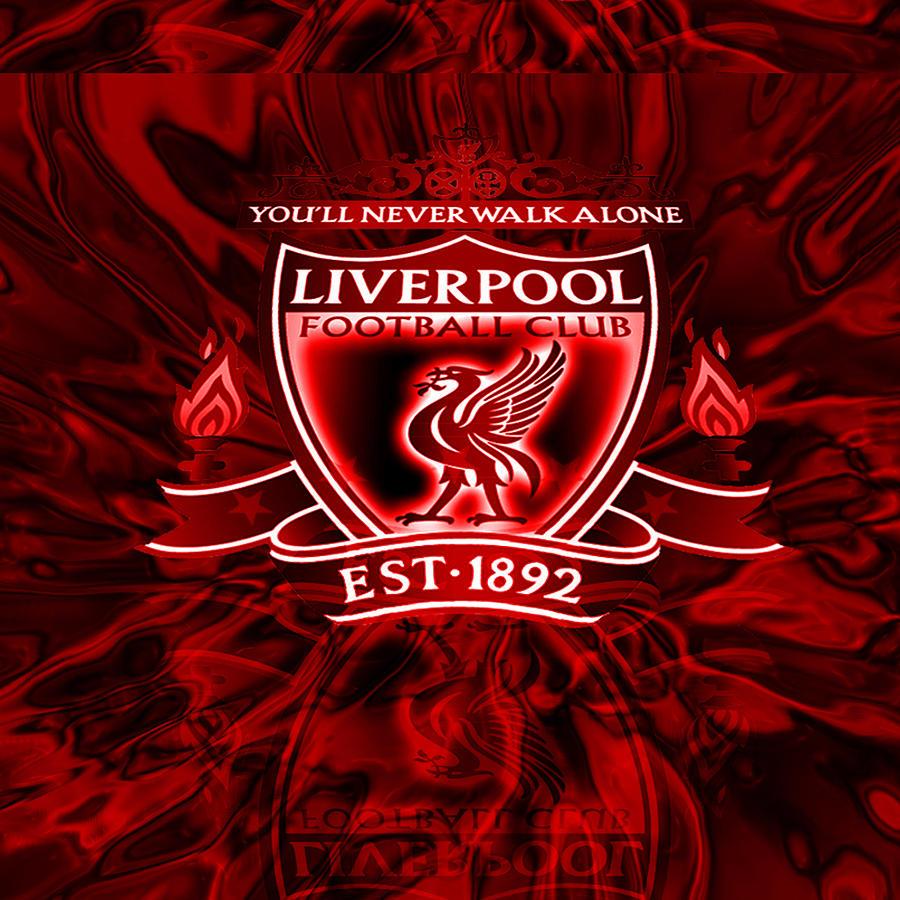 80a4e1198 Liverpool Football Club Fc You Will Never Walk Alone Digital Art by ...