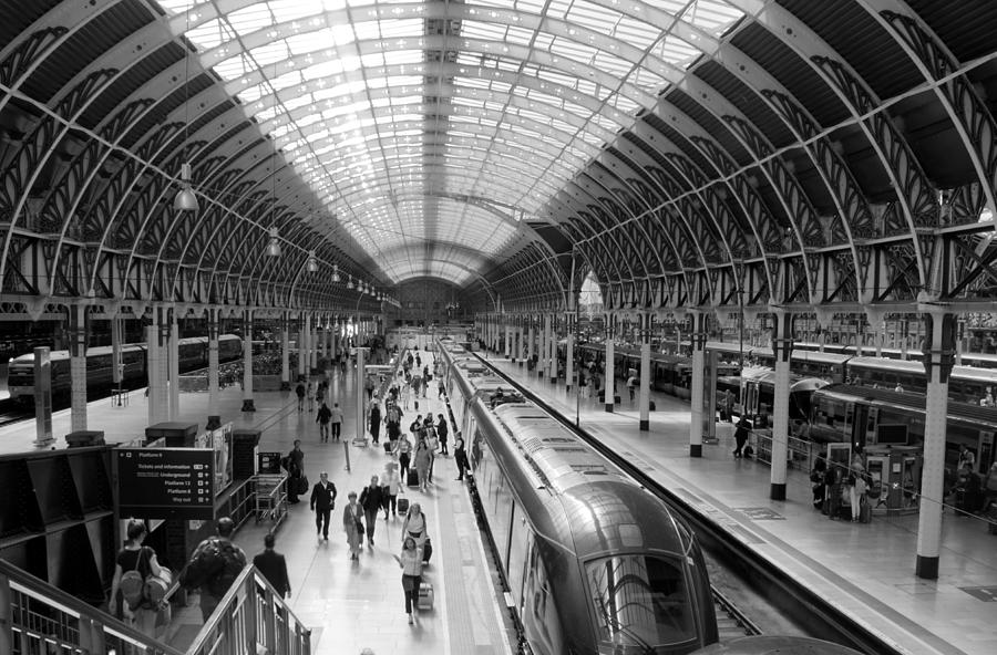 Liverpool Street Station by Jolly Van der Velden