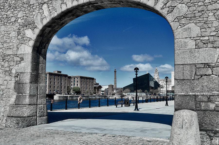 Liverpool Through An Arch Photograph