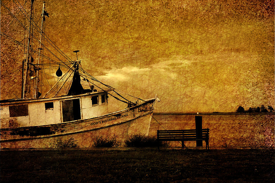 Nautical Photograph - Living In The Past by Susanne Van Hulst
