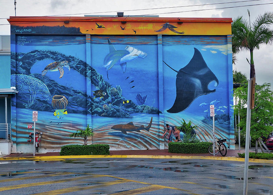 Living Reef Mural by Farol Tomson