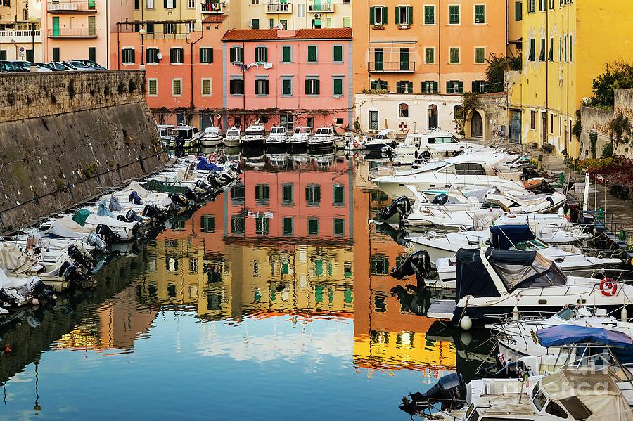 Livorno Italy Photograph by John Greim