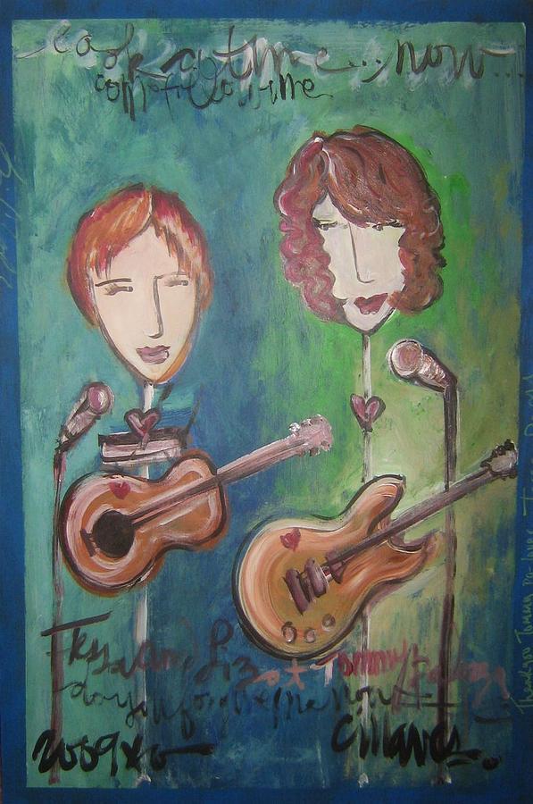 Liz Clark Painting - Liz Clark by Laurie Maves ART
