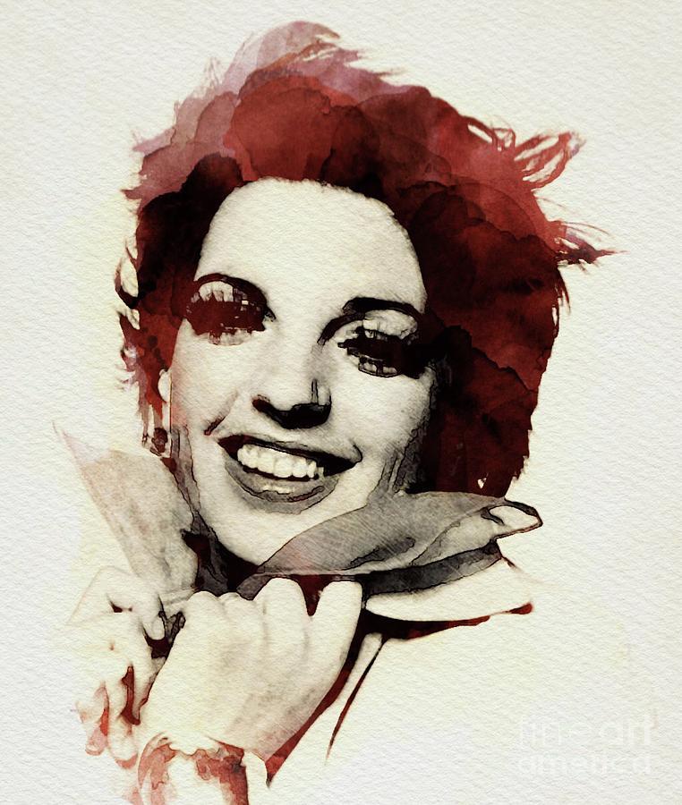 Liza Digital Art - Liza Minnelli by John Springfield