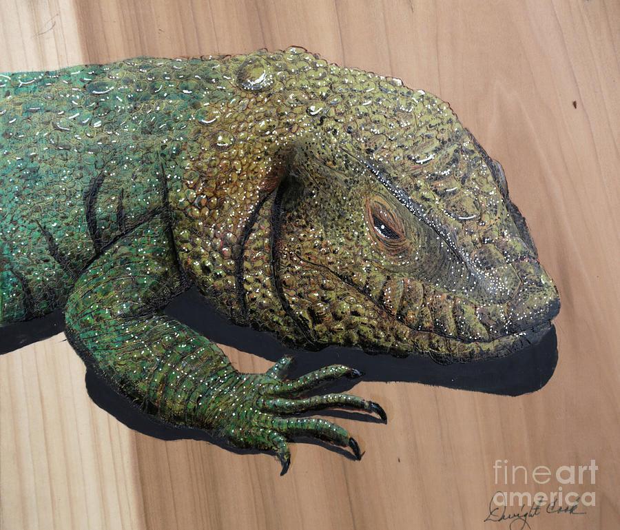 Lizard Photograph - Lizard Art Work by Dwight Cook