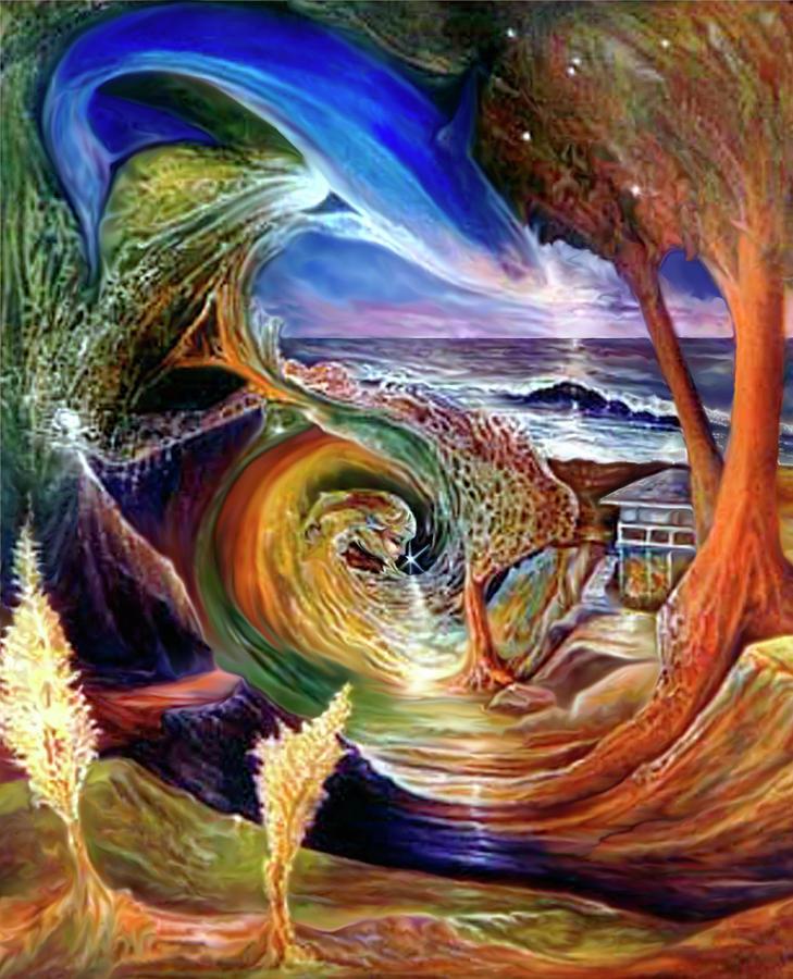 Spirit Painting - Lizdaze by Sevan Thometz
