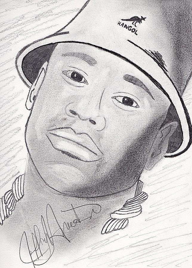 Ll Cool J Drawing By Jeff Harris