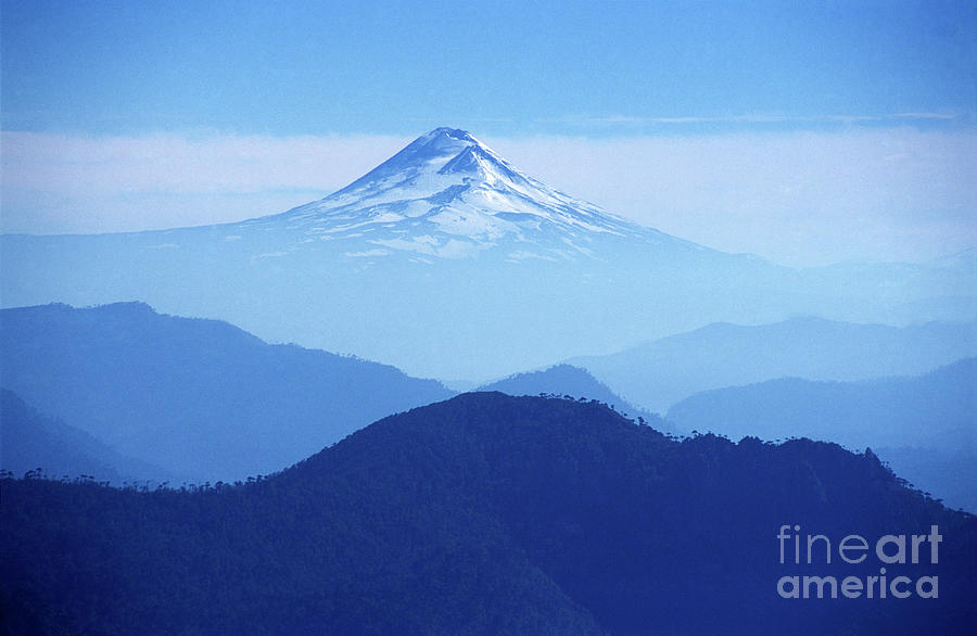 Chile Photograph - Llaima Volcano Chile by James Brunker