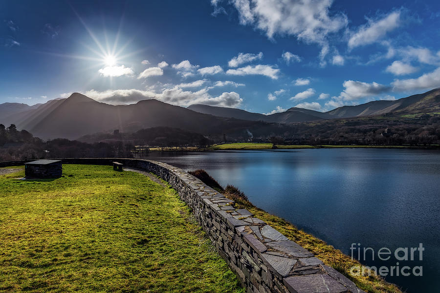 Mountain Photograph - Llanberis Snowdonia by Adrian Evans
