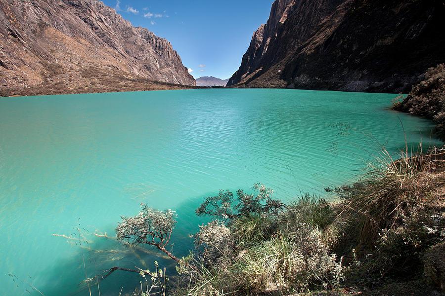 Llanganuco Lakes Photograph
