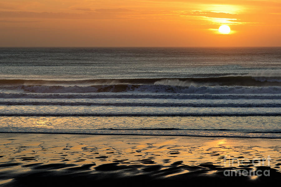 Llangennith Gold Reflections by Minolta D