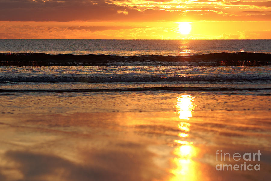 Llangennith Sundown by Minolta D