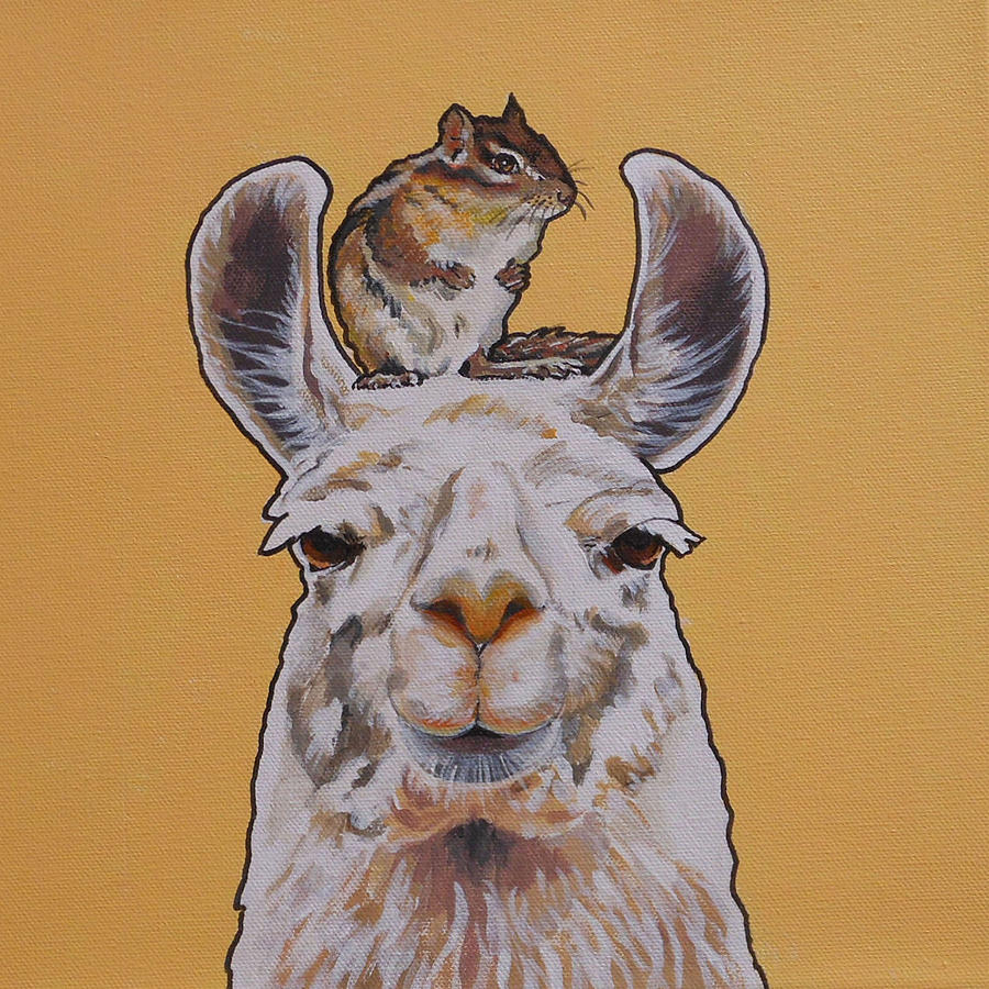 Llois the Llama by Sharon Cromwell