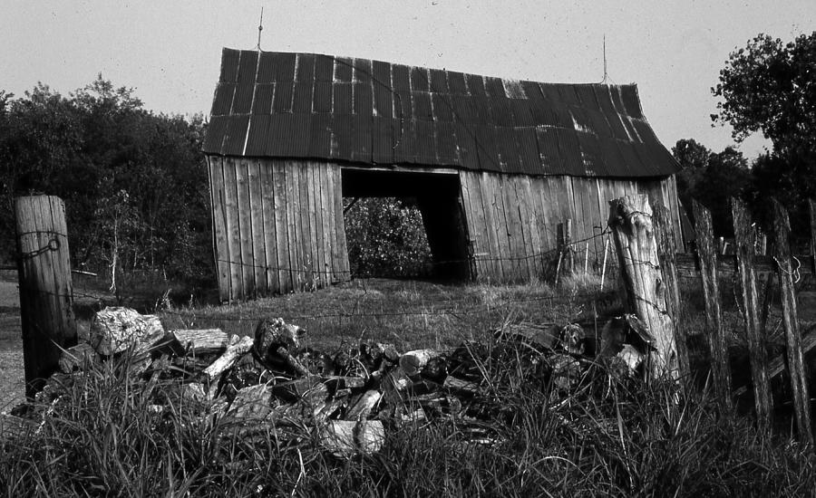 Vintage Photograph - Lloyd-shanks-barn-4 by Curtis J Neeley Jr