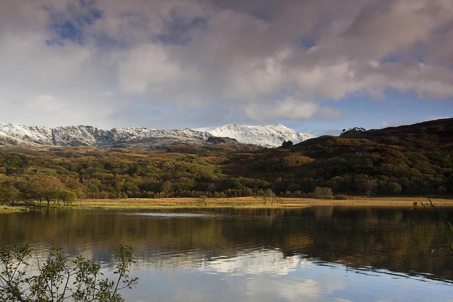 Llyn Dinas Photograph - Llyn Dinas - Snowdonia - Wales by Gary Rowe