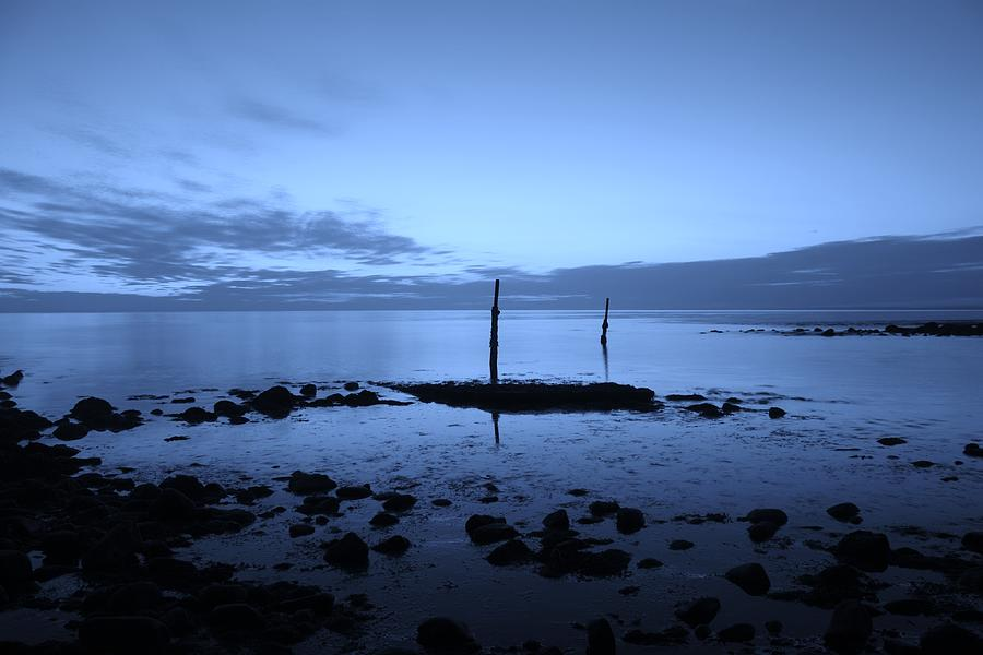 Sunset Photograph - Llyn by Sean Wareing