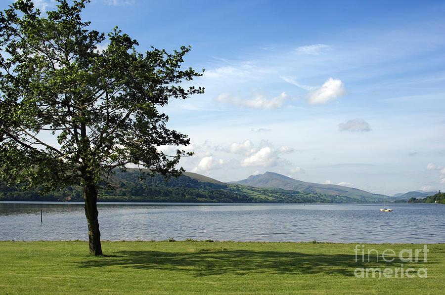 Wales Photograph - Llyn Tegid, Bala, Snowdonia Wales Uk by Keith Morris