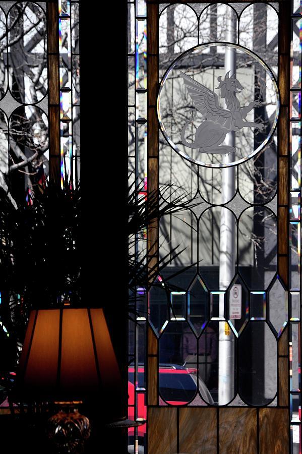 Lobby Glass Detail Photograph