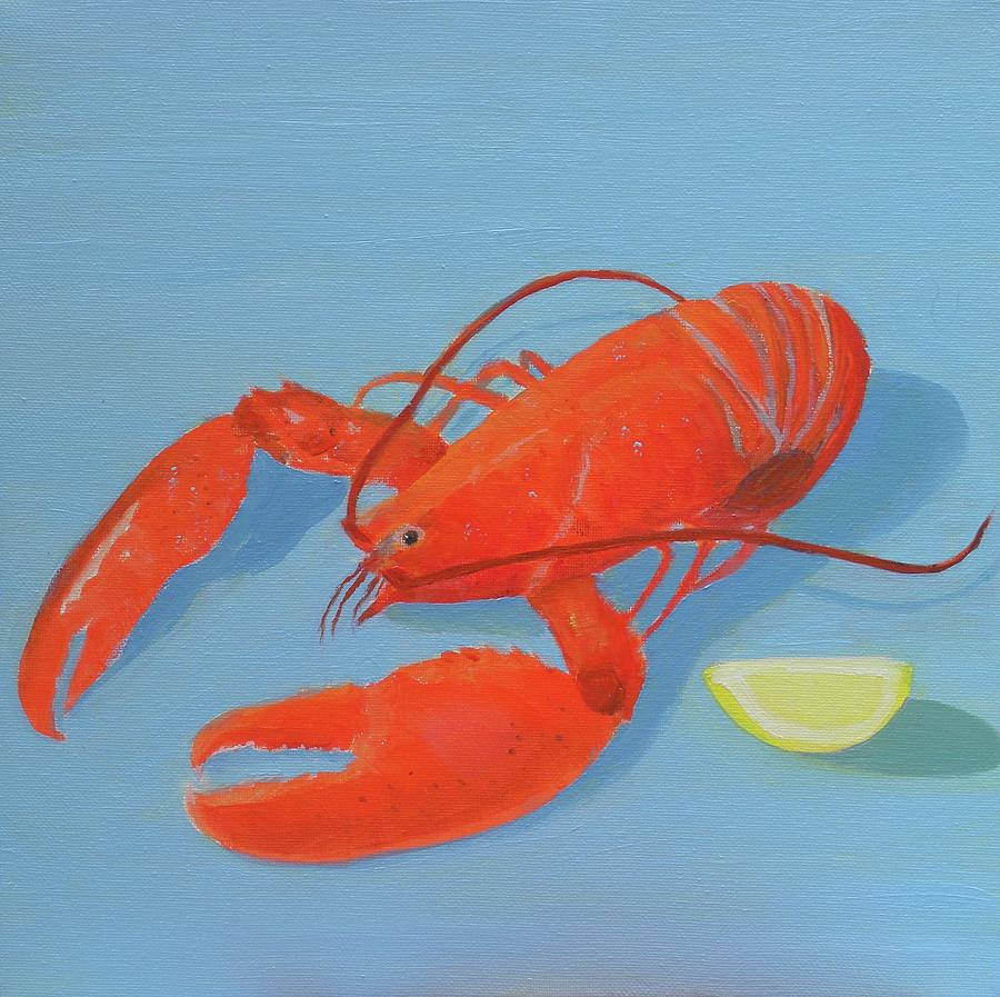 Lobster and Lemon by Scott W White