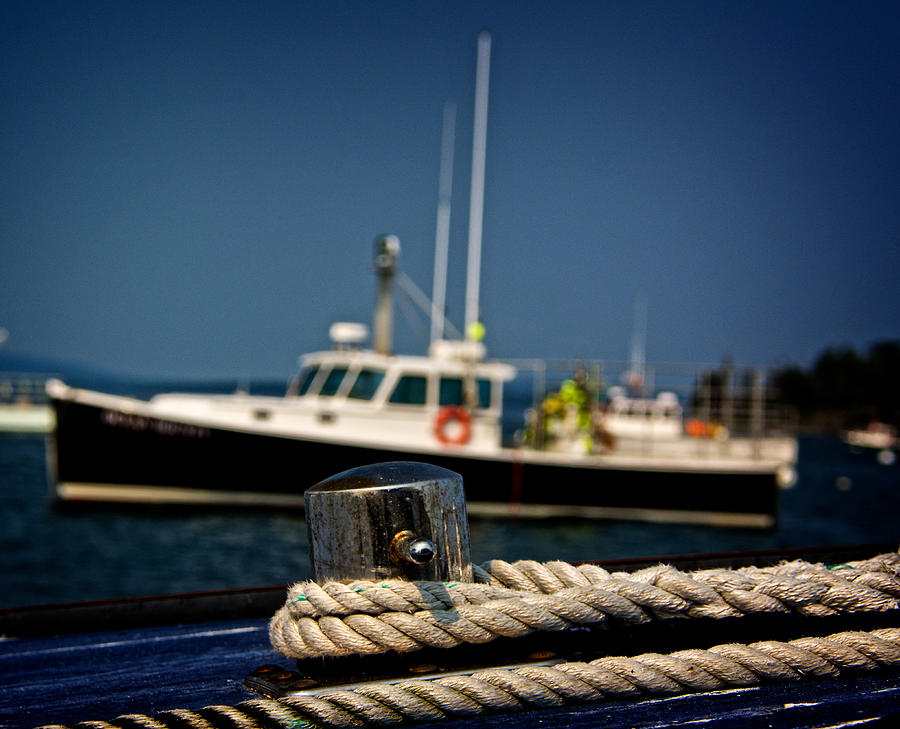 Acadia National Park Photograph - Lobster Boat I by Kathi Isserman