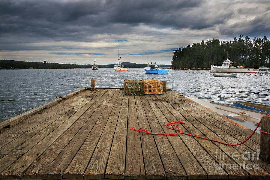 Lobster Boats Of Winter Harbor Photograph