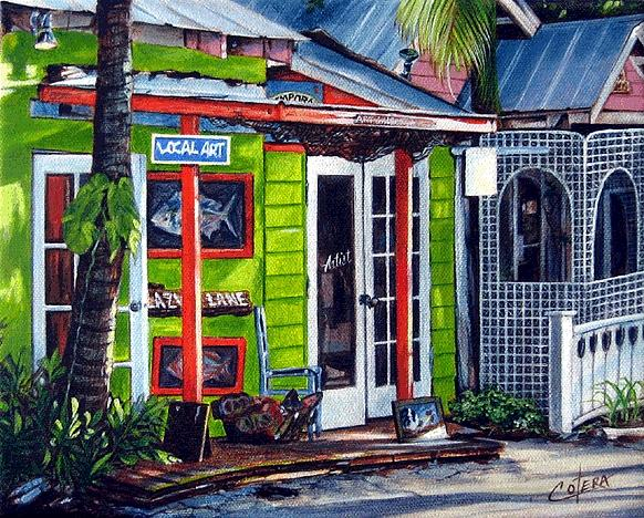 Landscape Painting - Local Art by Carlos Alvarez