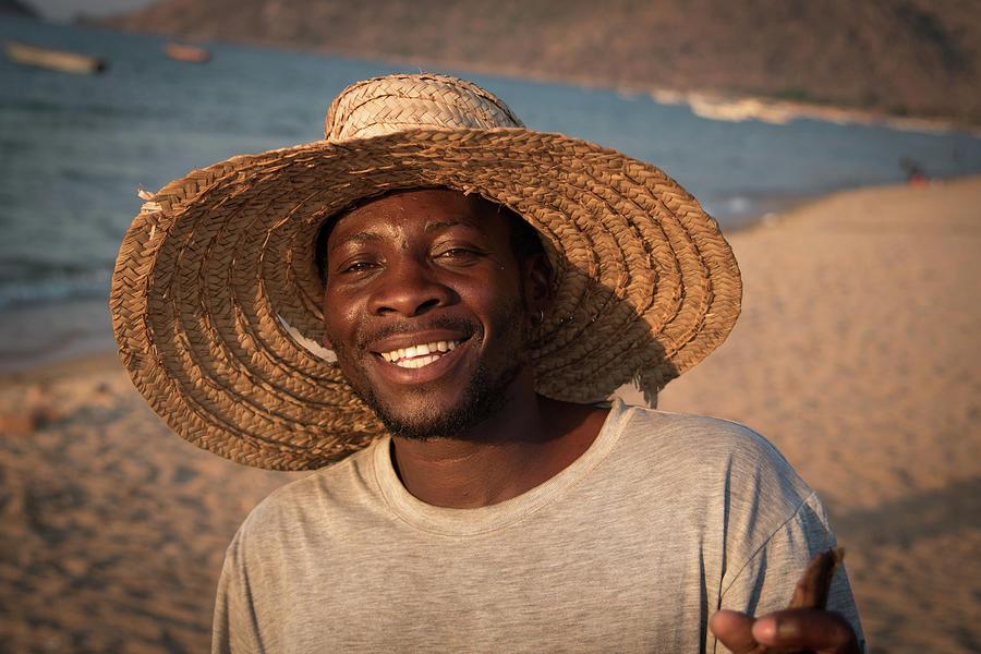 Local Fisherman - Lake Malawi. by Gareth Pickering