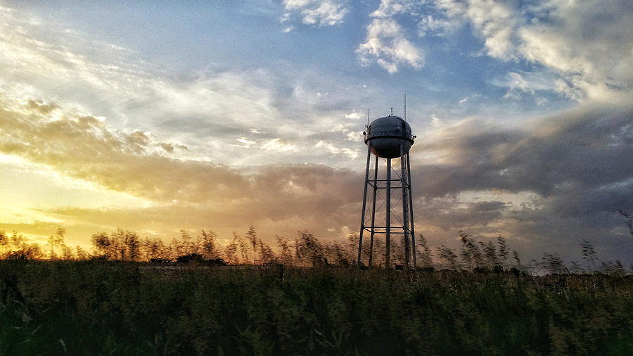 Local Water Tower  Photograph by Dustin Soph