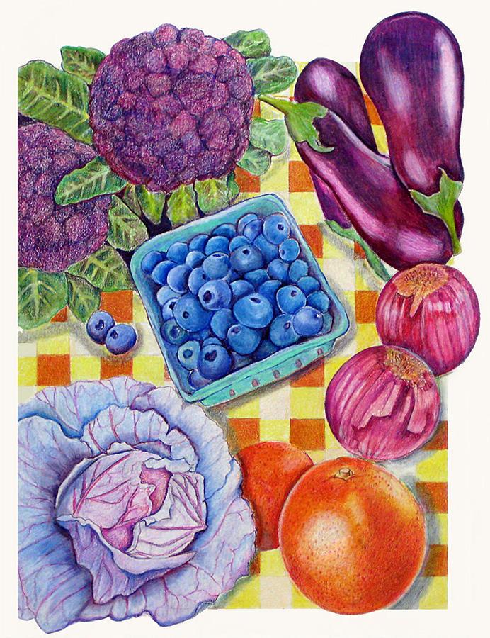 Still Life Painting - Locally Grown Still Life 2 by Barbara Goodsitt