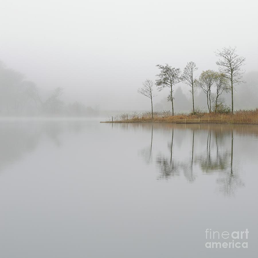 Loch Ard Photograph - Loch Ard Misty Sunrise by Maria Gaellman
