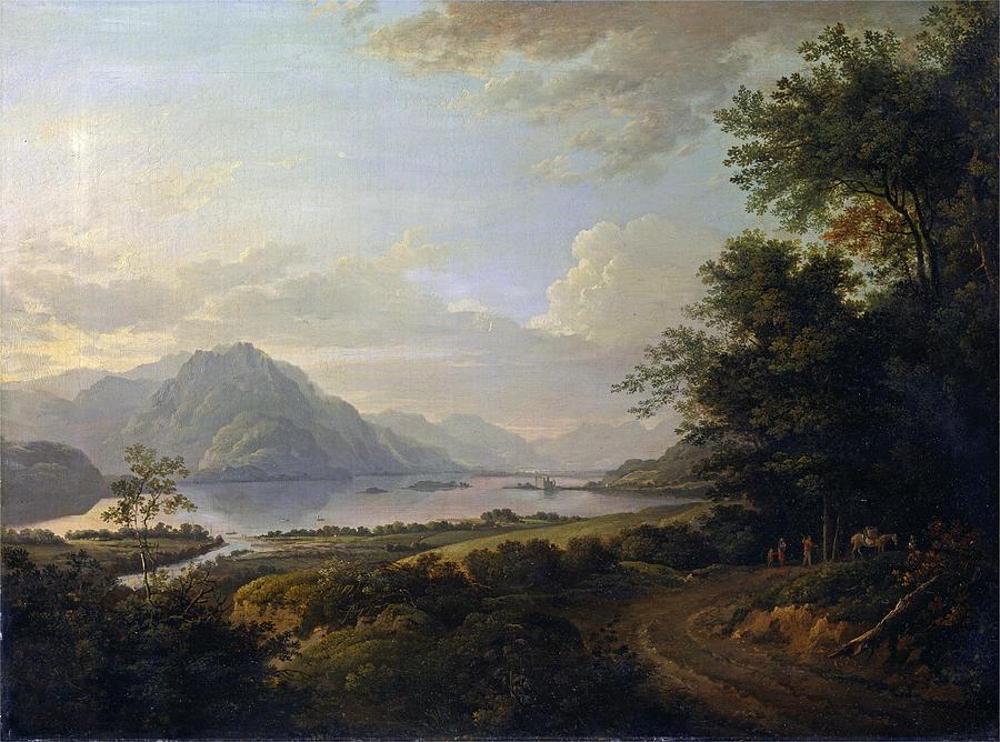 Alexander Nasmyth Painting - Loch Awe. Argyllshire by Alexander Nasmyth