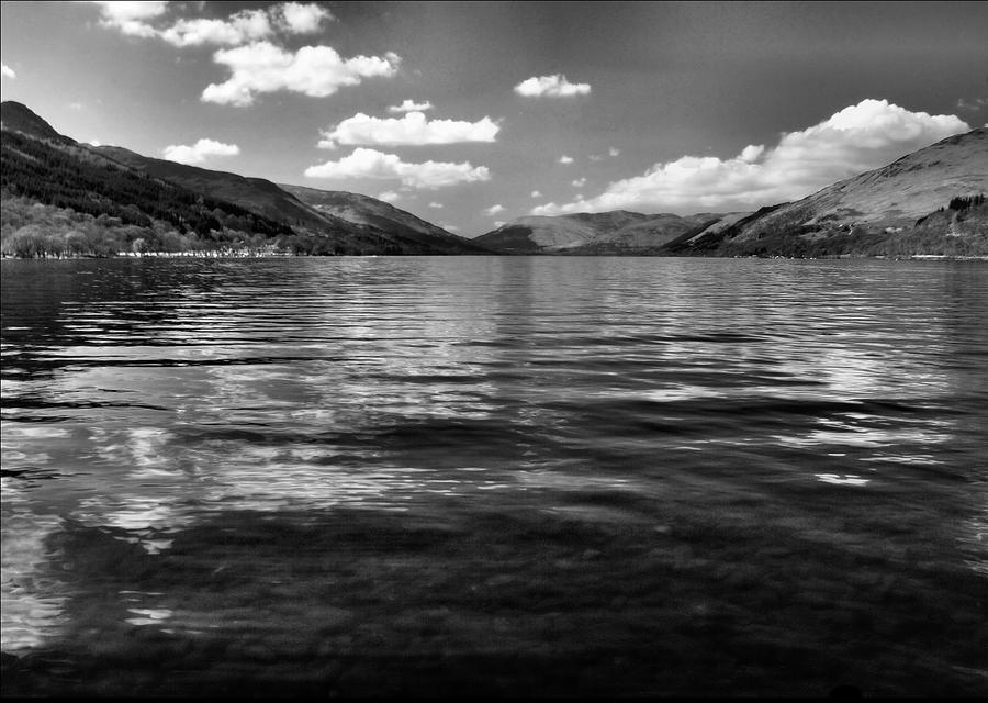 Water Photograph - Loch Earn Scotland by Fraser Davidson