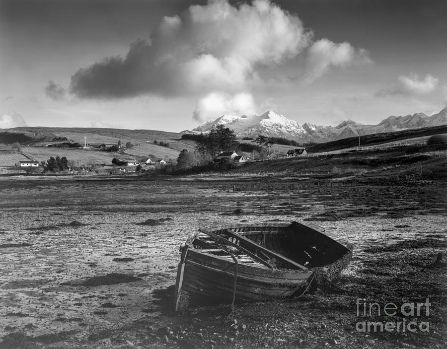 Beached Photograph - Loch Harport by Karl Thompson