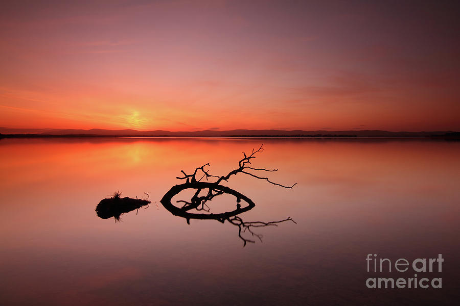 Loch Leven Sunset by Maria Gaellman