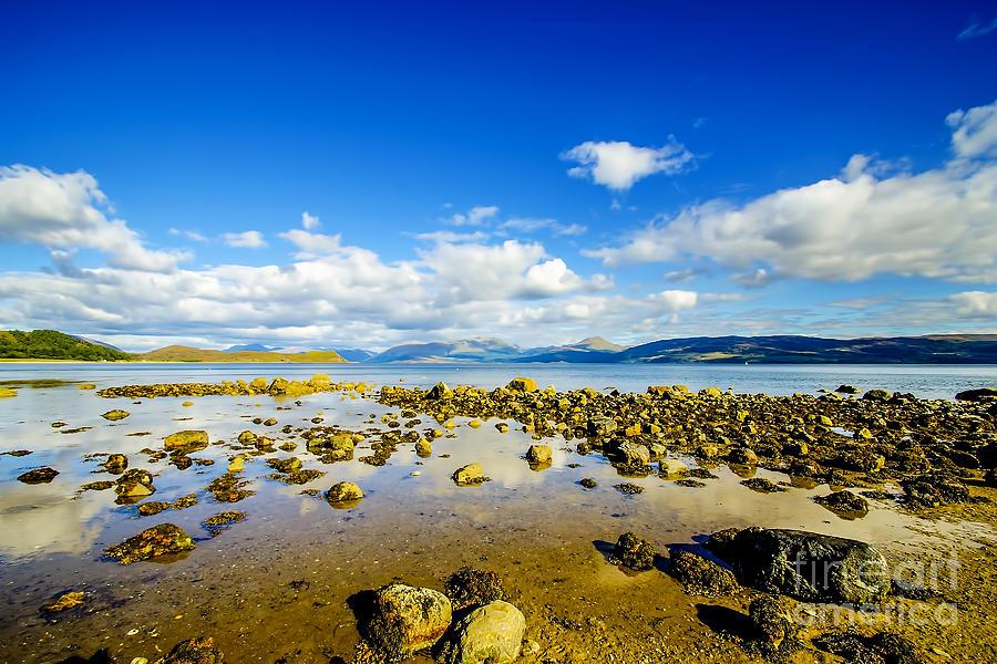Loch Linnhe Clouds Photograph