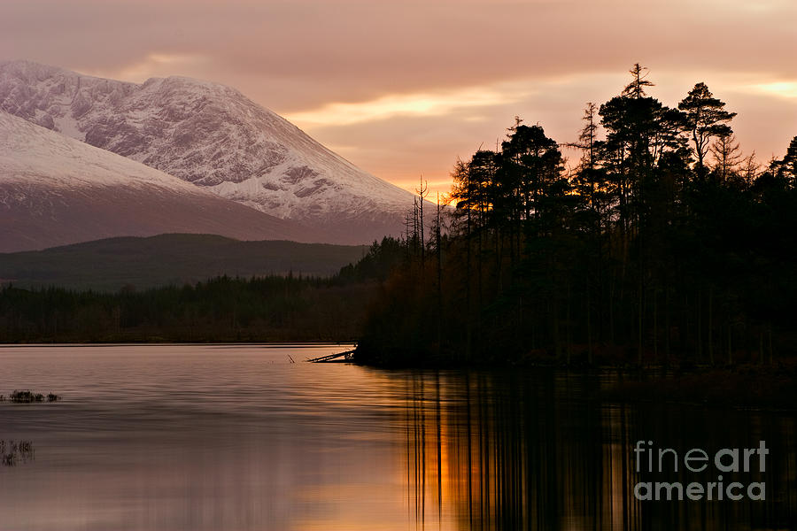 Loch Lochy Photograph - Loch Lochy by David Bleeker