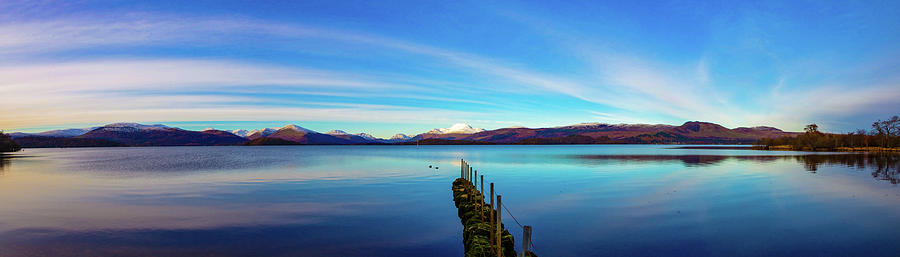 Loch Lomond Panorama by Mark McGillivray