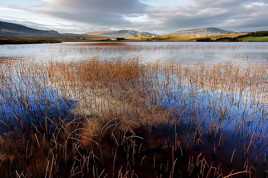 Isle Of Skye Photograph - Loch Mealt by Smart Aviation