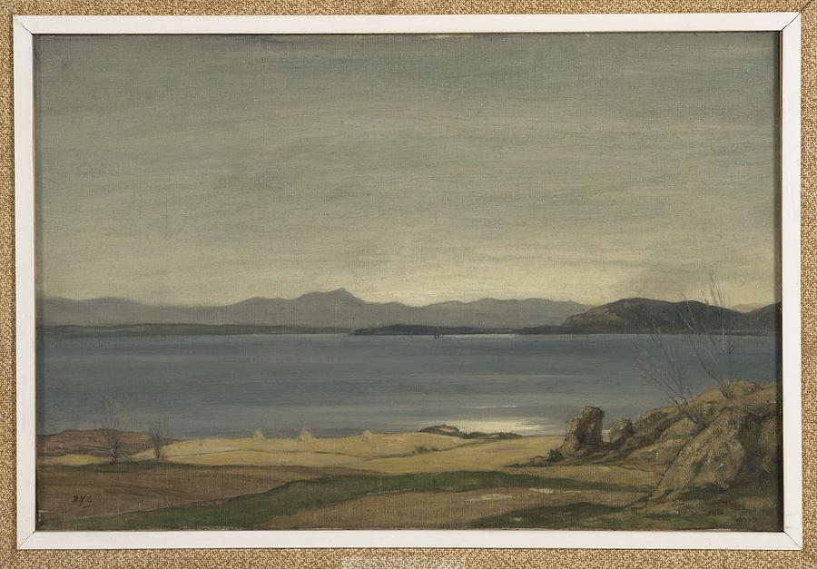 Nature Painting - Loch Nell, 1930-1935, By Sir David Cameron 2 by Sir David Cameron