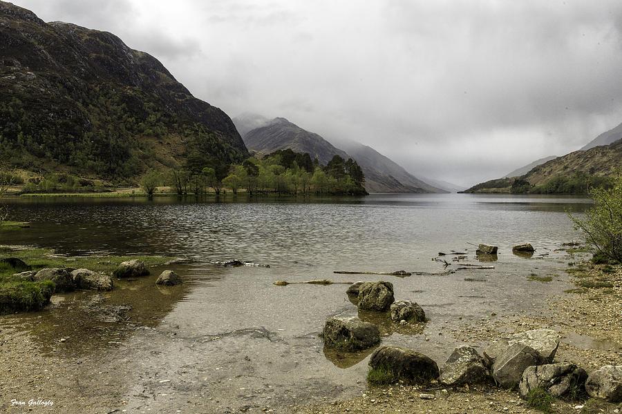 Loch Photograph - Loch Shiel by Fran Gallogly