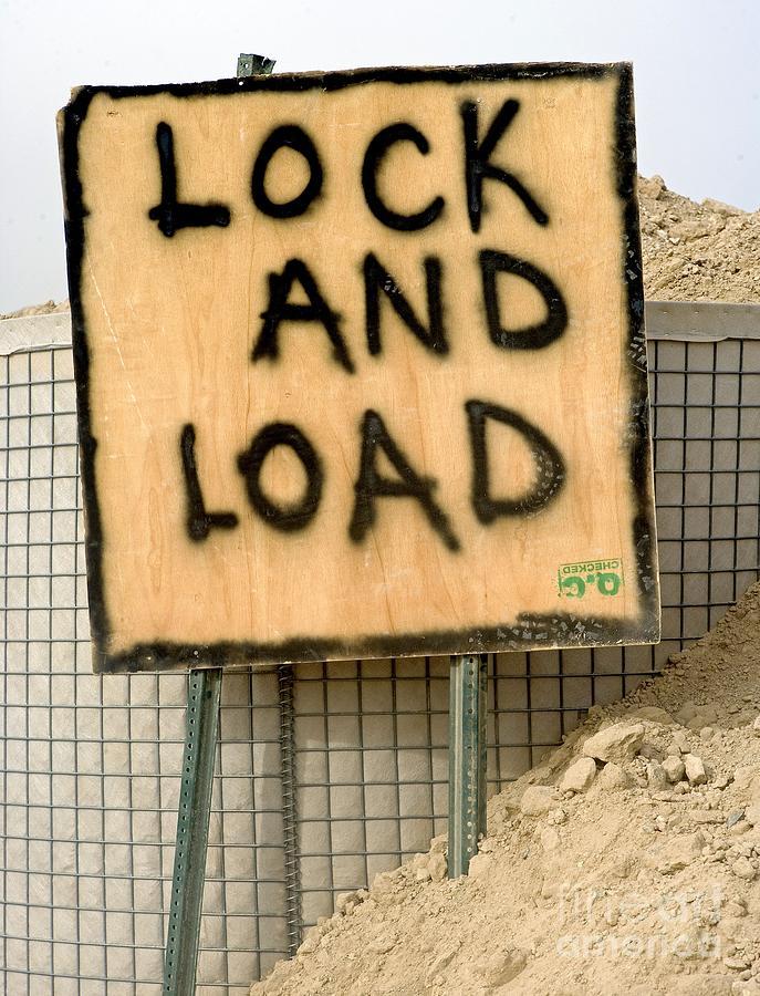 Afghanistan Photograph - Lock And Load by Unknown