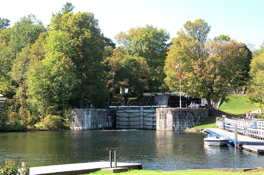 Lock Gates at Jones Falls by Valerie Kirkwood