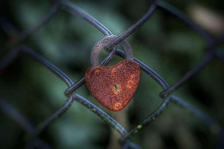 Lock Of Love Photograph by James Caine
