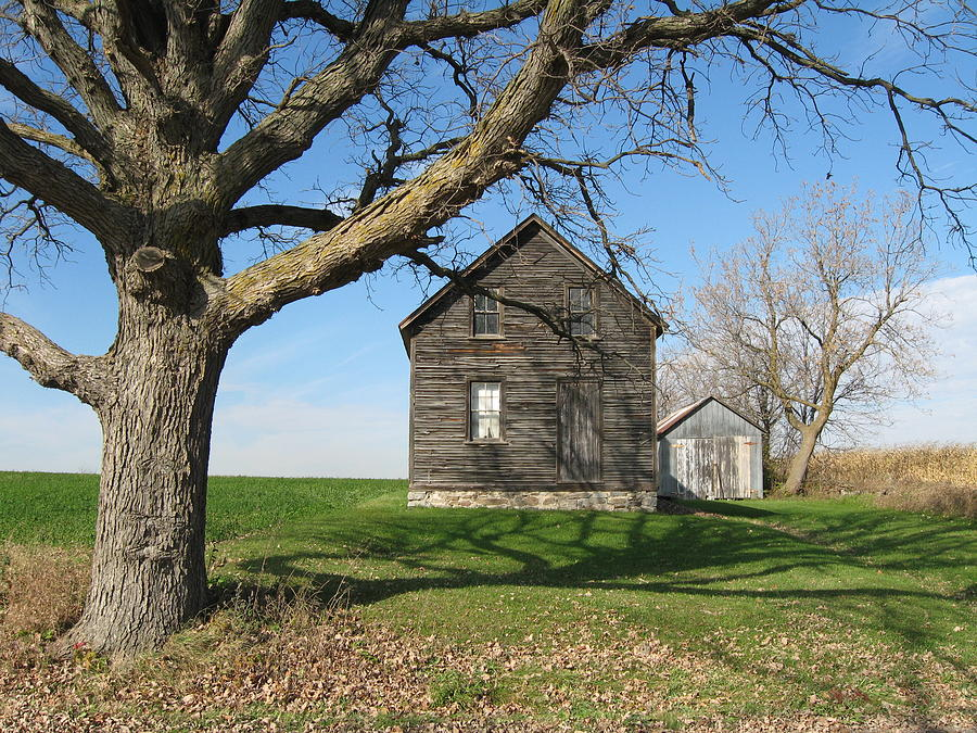 Farmhouses Photograph - Lock The Door by Richard Stanford
