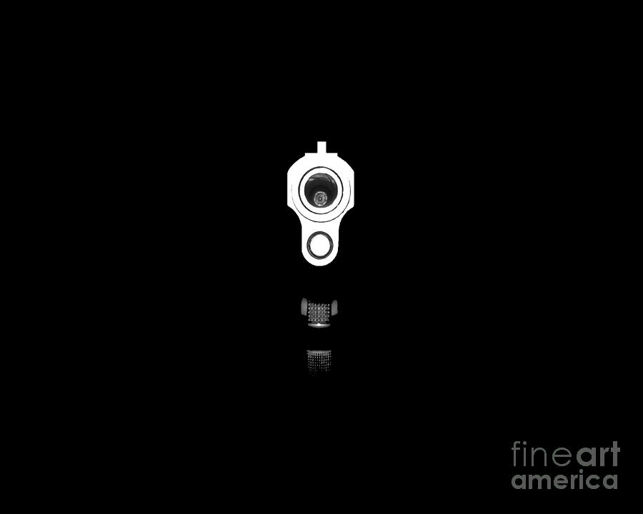 Gun Photograph - Locked And Loaded .png by Al Powell Photography USA