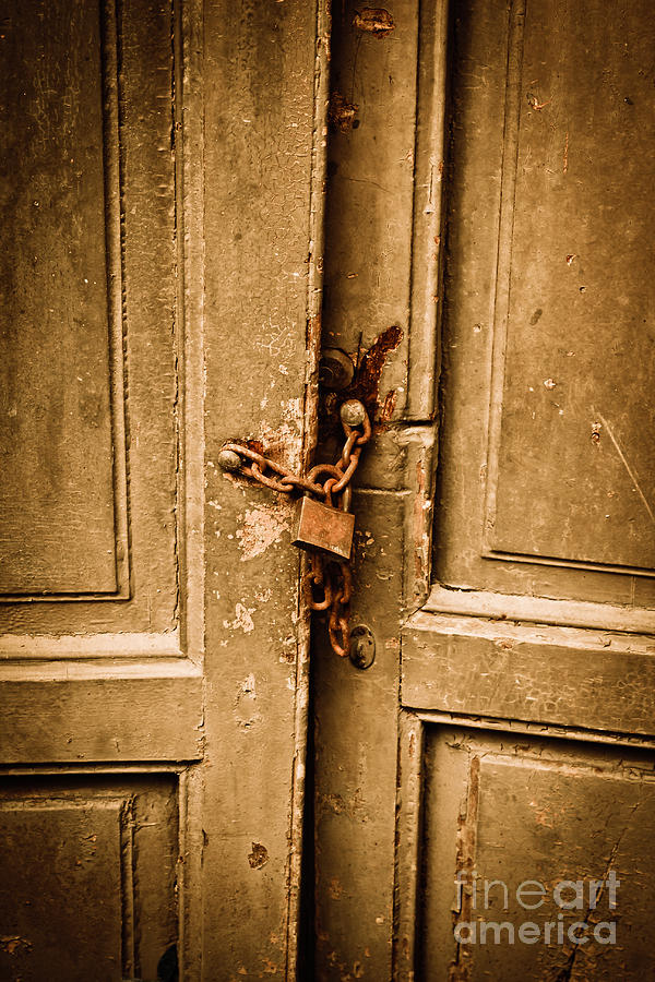 Historical Photograph - Locked by Gabriela Insuratelu