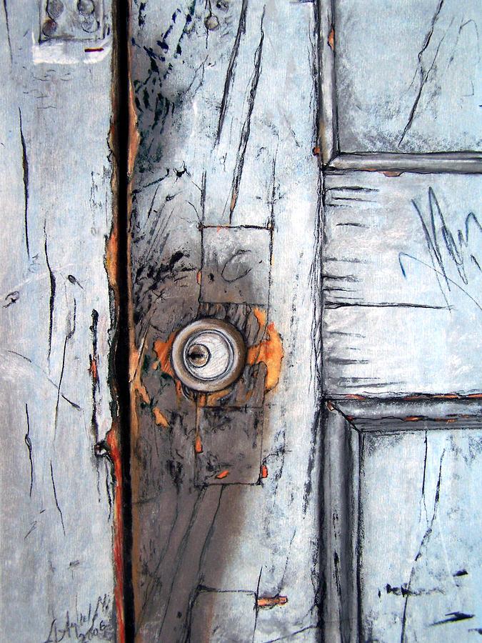 Still Life Painting - Locked by Leyla Munteanu