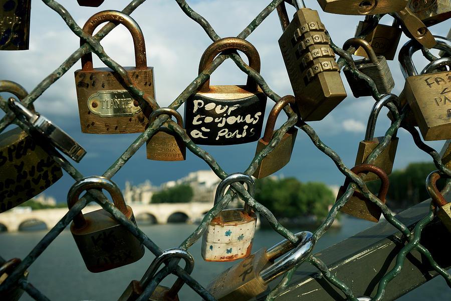 City Photograph - Locked by Milan Mirkovic