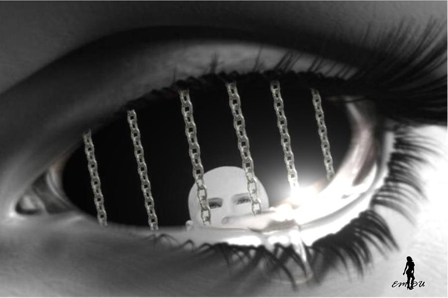 locked up digital art by maria datzreiter